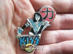 Kiss Vol. #7 Japan Stars Series 2005 set of 4 Hard Rock Cafe Pins LE 750