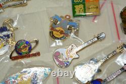 Lot Of 23 Hard Rock Cafe variety Pins GUAM BEIJING SHANGHAI CABO BALI BANFF
