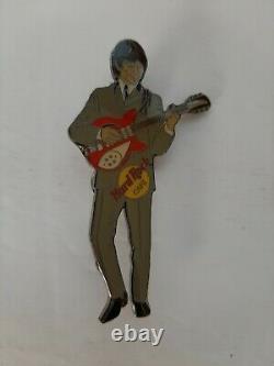 Lot /Set # 4 HARD ROCK Cafe BEATLE PINS John Lennon Paul McCartney Rings Star +