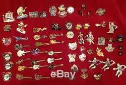 Lot of 65 Hard Rock Cafe Reykjavik Pins/ Hard Rock Café Reykjavík Pins (Rare!)