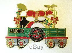 MADRID, Hard Rock Cafe Pin, European Train Series, Very Nice