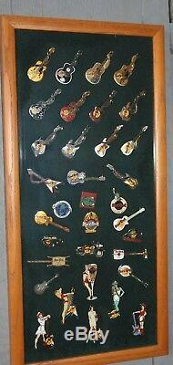 My Hrc Hard Rock Cafe Pin Collection (167) Mostly From 1980's 1990's