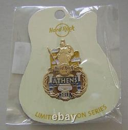 NEW 2015 Hard Rock Cafe HRC ATHENS ICON Pin Official Limited Edition 200