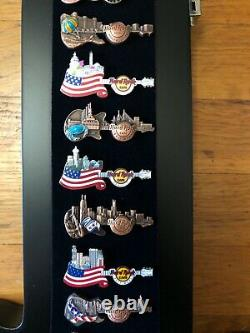 One of a Kind Hard Rock Cafe Pin Collection
