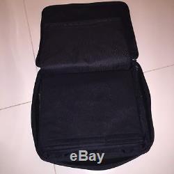 PIN BADGE Collectors LARGE BAG / CASE Hard Rock Cafe HRC BLACK FOR PINS