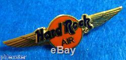 PROTOTYPE SAMPLE HARD ROCK AIR MORTON PILOT'S WINGS GOLD Hard Rock Cafe PIN