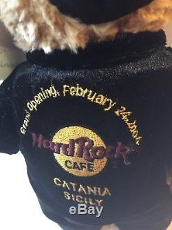 Pre-Production Archive Hard Rock Cafe Catania Grand Opening City Bear 2004