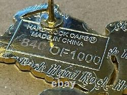 Queen Freddie Mercury Rare Numbered 840 Of 1000 Hard Rock Cafe Pin Badge Rare
