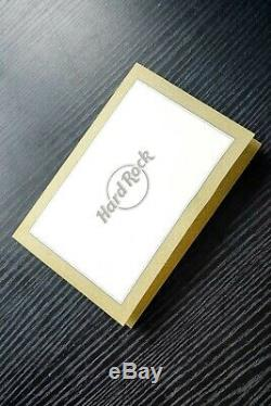 RARE Hard Rock Cafe 5 Star Franchise Excellence Pin Badge Perfect Condition