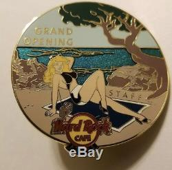 Rare Hard Rock Cafe Aruba Grand Opening Staff Pin