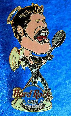 SINGAPORE FREDDIE MERCURY QUEEN 10th ANNIVERSARY Hard Rock Cafe PIN LE