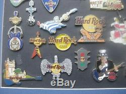 Sammlung 24 Hard Rock Cafe Pins