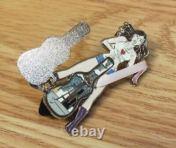 Seattle Hard Rock Cafe Grand Opening Staff Guitar Collectible Rare Lapel Pin