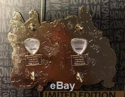 Set 2 HRC Hard Rock Cafe Phnom Penh Cambodia pin pins LIMIT EDIITON 75