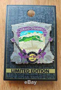 Staff pin Hard Rock Cafe Málaga Grand Opening VERY LIMITED EDITION