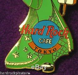 Tokyo 2001 CALENDAR GEISHA Hard Rock Cafe Pin PROTOTYPE