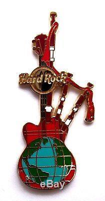 VRARE Hard Rock Cafe CEO STAFF Award Guitar Pin Version 3