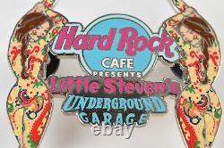 Vintage Hard Rock Café Lapel/Hat Pin Pinback Little Steven's Underground Garage