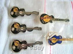 Vintage Hard Rock Cafe Pin Collection Approx 80+ Pins, Sweet Collection/SEE PICS