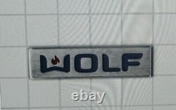 Wolf Logo Dual Fuel Range Large With Pins New