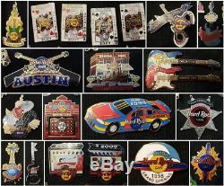 121 Épingles D'ouverture Des Hard Rock Cafe USA Et Canada