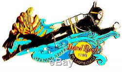 1999 Hard Rock Cafe Fort Lauderdale Ouverture Du Personnel Pin