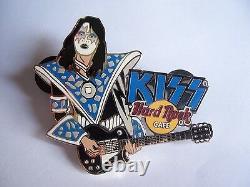 2005 Kiss Jam Series Hard Rock Cafe Pin Set Of 4 Pins Limited Edition 200 Rare