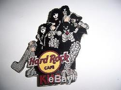 2006 Baiser Live Series Hard Rock Cafe Pin 5 Ensemble Complet De L. E. 100 Rare