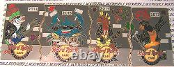 2013 Hard Rock Baltimore 4 Pin Puzzle Punk Rock Preakness, Orioles, Poisson, Crabe