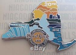 2016 Hard Rock Cafe Niagara Falls, États-unis Et Canada 20e Anniversaire (6) Pin Box Set