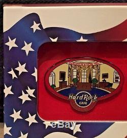 2017 Hard Rock Cafe Washington DC Président Trump Inauguration Pin Set