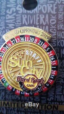 Afrique Du Hard Rock Cafe Sun City South Grand Ouverture Du Personnel Pin Pre Commande