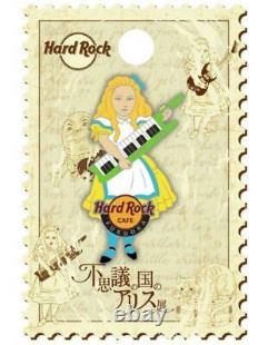 Alice Au Pays Des Merveilles Exposition Hard Rock Cafe Fukuoka Epingle