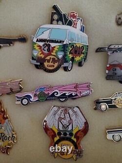 All Automotive / Cars Hard Rock Cafe 19 Pin Set Very Hars Pour Trouver Des Épinglettes