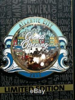 Atlantic City Grande Ouverture Hard Rock Café Hôtel Casino Pin Édition Limitée 2018