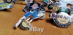 Baiser / Hard Rock Café Pins (de Lot De 20 Divers Pins) Nba / Miami / Orlando