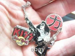Baiser Vol. # 7 Japon Salut Série 2005 Série De 4 Hard Rock Cafe Pins Le 750