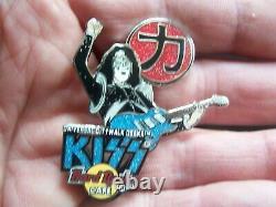 Baiser Vol. # 7 Japon Salut & Stars Series'05 Ensemble De 8 Hard Rock Cafe Pins Le 750