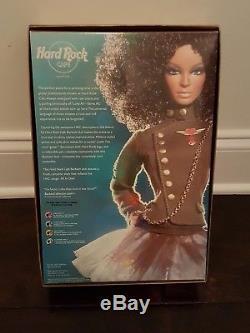 Barbie Hard Rock Cafe Poupée Afro-américaine Poupée Guitare Nrfb Gold Label