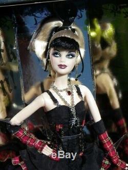 Barbie Hard Rock Cafe Punk 2008 La Guitare Araignée Pin Mattel L9663 Nrfb Musique