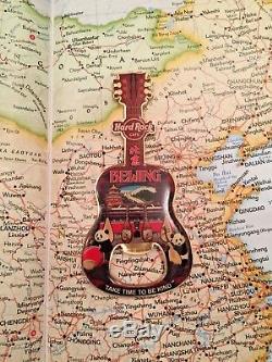 Beijing Chine Hard Rock Cafe Fermé Hrc Guitare Magnet Décapsuleur Rare