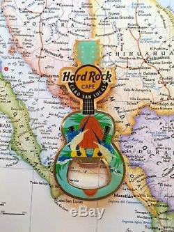 Cabo San Lucas Mexique Hard Rock Cafe Fermé Hrc Guitare Métal Aimant Pincraft