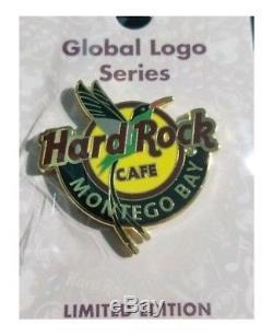 Café Hard Rock Montego Bay - Logo Mondial, Série 2018 - Épinglette