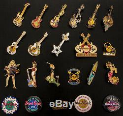 Collection De Broches De Collectionneur Hard Rock Cafe Jamais Portées En Excellent État