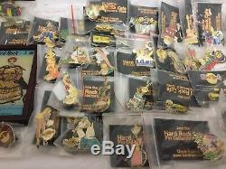 Collection Hard Rock Café Pins 35 Plus Shanghai Open Box