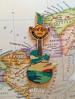 Costa Maya Mexique Hard Rock Cafe Hrc City Guitar Pincraft Mini Fermée Cafe