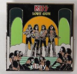 Embrasser 3 Épingles D'album De Style Café Au Style Hard Rock Café Par Kissonline 2006 Officiel