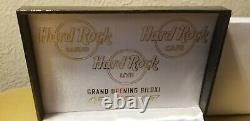 Grand Opening Pin Set Hard Rock Casino Hotel Cafe Biloxi Guitar Pins Au 07-07-07