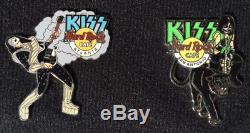 Hard Rock Cafe 2003 Kiss Série Pins 17 Hrc Kiss Vault Pin & Extras Livraison Gratuite