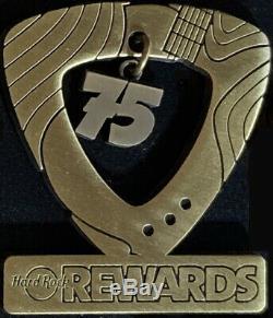 Hard Rock Cafe 2013 75ème Café Visitez Milestone Récompenses Copper Pin Hrc # 70988